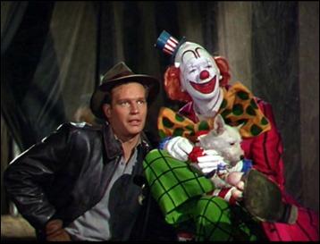 Con James Stewart, en El mayor espectáculo del mundo