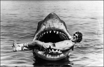 El joven Spielberg, en las Mandíbulas de su Tiburón