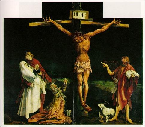 La Crucifixión, de Grunewald