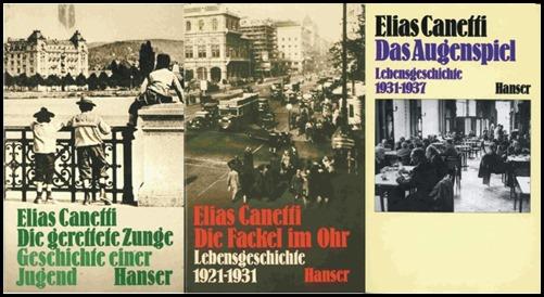 La trilogía canettiana, en su edición alemana