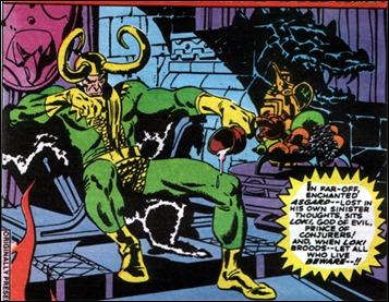 Loki, por John Buscema