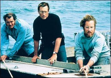 Los tres cazadores del tiburón