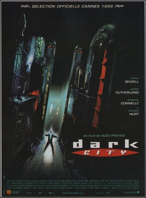 Cartel francés de  Dark City, de Alex Proyas