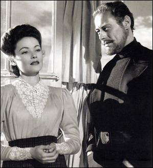 El capitán Gregg y Lucy Muir