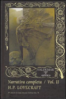 La Narrativa Completa de Lovecraft, en Valdemar