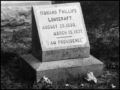 La tumba de Lovecraft en Providence