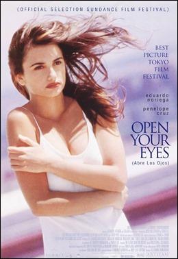 Penélope Cruz, protagonista de Abre los ojos