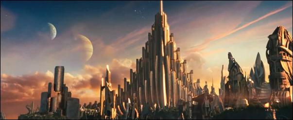 Todo es dorado en este Asgard