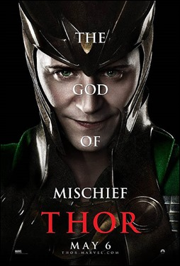 Tom Hiddleston, el estupendo Loki