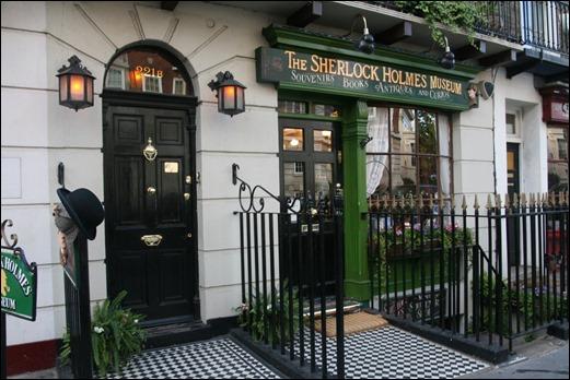 El actual Museo de Sherlock Holmes, en el 221b de Baker Street