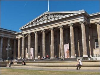 El British Museum, escenario de una escena de impacto en Los nombres muertos
