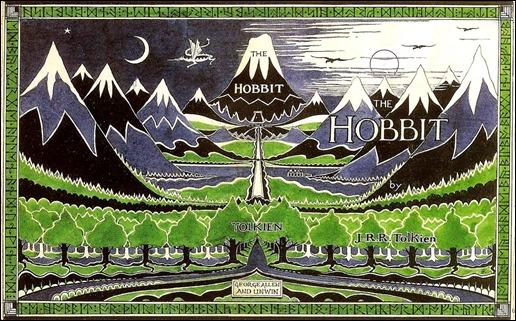 Ilustración de J. R. R. Tolkien para la edición original de El Hobbit