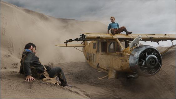 Increíbles imágenes del Tintín de Spielberg