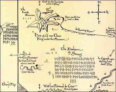 Los adorables mapas de Tolkien