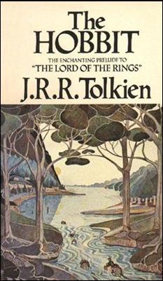Portada de la novela de Tolkien El Hobbit