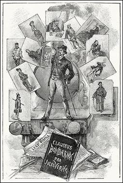 Portada de la primera edición francesa de Claudius Bombarnac