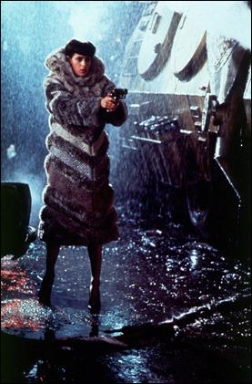 Rachael y su abrigo