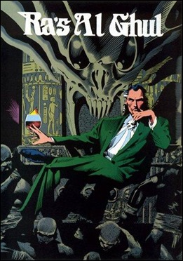 Ra's Al Ghul, en los comics