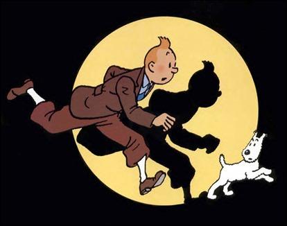 Tintín y Milú, de Hergé