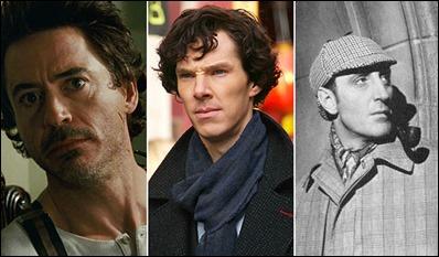 Tres Sherlock Holmes distintos