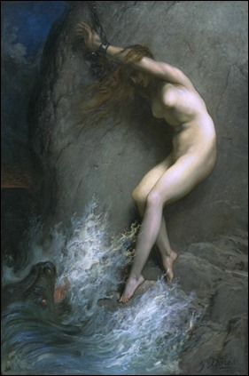 Andrómeda, por Gustavo Doré