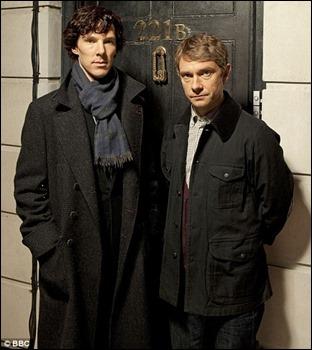 Benedict Cumberbatch y Martin Freeman, los Holmes y Watson del siglo XXI
