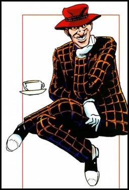 El loco Jim Jaspers, precedente de este Moriarty, por Alan Davis