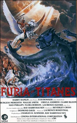 Furia de titanes, de 1981