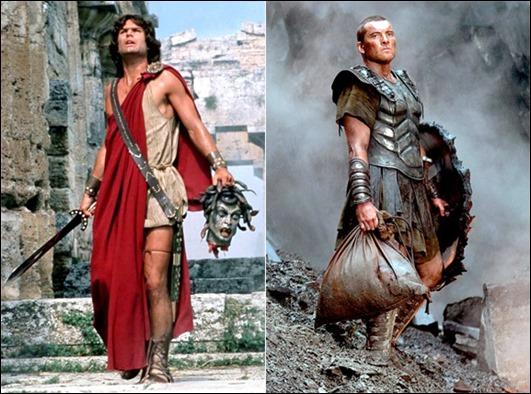 Harry Hamlin o Sam Worthington, no sé qué Perseo es peor...