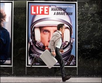 La revista Life es donde trabaja Walter Mitty