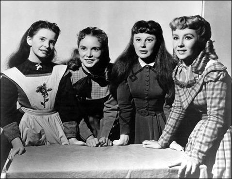 Las hermanas March, demasiado mayores en la versión de 1949