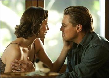Marion Cotillard y Leonardo DiCaprio