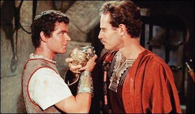 Messala y Ben-Hur, rivales de mayor fuste en la película