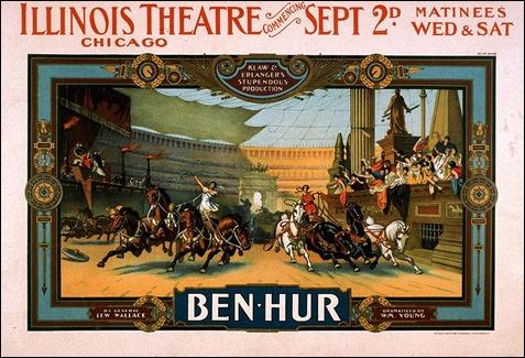 Poster teatral de Ben-Hur
