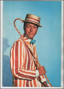 El estupendo Bert interpretado por Dick Van Dyke