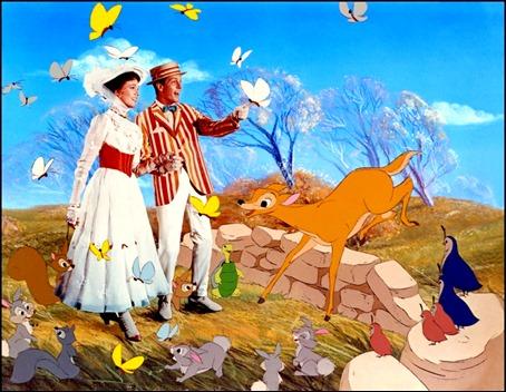 El mágico mundo de colores en Mary Poppins