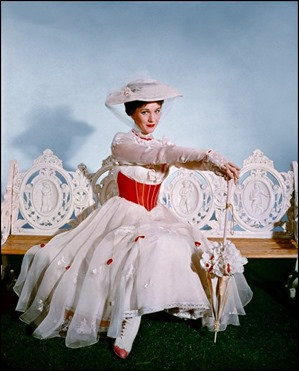 Julie Andrews, guapa... y sosa