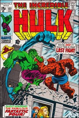 Los 4 Fantásticos curan a Hulk... por breve tiempo