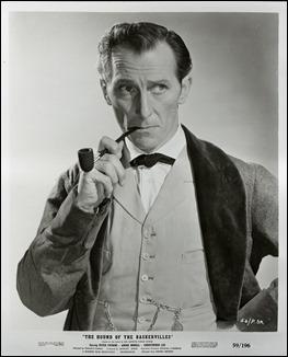 Peter Cushing, el mejor Sherlock Holmes del cine