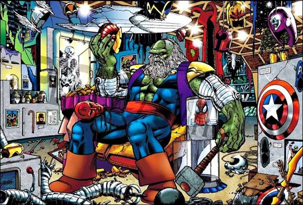 Un Hulk degradado, el Maestro