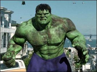 Un Hulk digital, en la película de Ang Lee