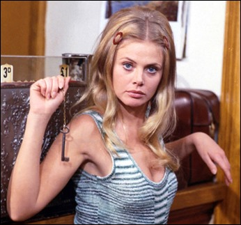Britt Ekland, la archideseable Willow