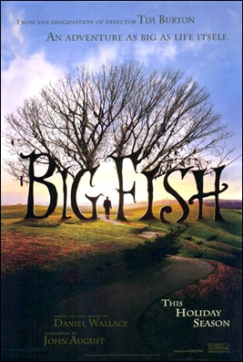 Cartel anunciador de Big Fish