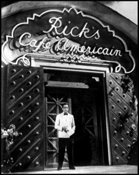 El Café Americano y su dueño, Rick Blaine