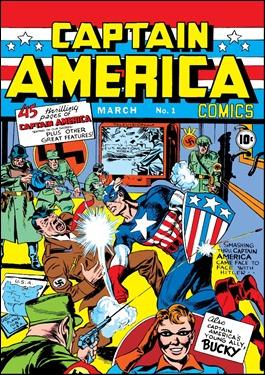 El histórico número 1 del Capitán América, en 1941