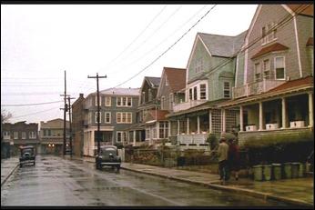 El humilde barrio donde viven los protagonistas