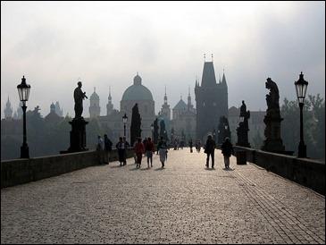 El Puente Carlos de Praga