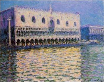 Imagen de Venecia, por Claude Monet