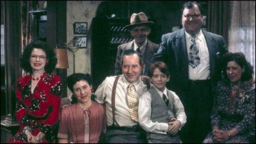 La familia protagonista, el niño es Seth Green