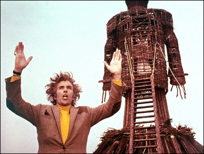 Christopher Lee in Robin Hardy's THE WICKER MAN (1973). Courtesy: Rialto Pictures/ Studiocanal